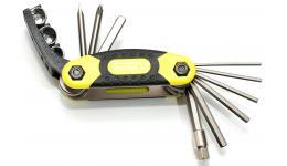 Набор 8-10000041 унив. ToolBox 12 складн. шестигр., +/- отв, боксы никел. неон-желт-серый(10) AUTHOR