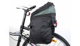 Сумка 8-15000097 для багаж. Carry More LitePack20 б/съем. расклад. с плеч. ремнем V=20л черн. AUTHOR
