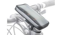 Сумочка/чехол 8-15002620 на вынос I-SHELL д/смартфона 135х70мм влагозащ б/съемн. (10) черная AUTHOR