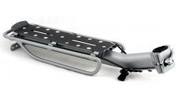Багажник 8-15203120 алюм. на подс. штырь ACR-160-Alu с эксц. резин. до 10кг (12) сер.-черный AUTHOR