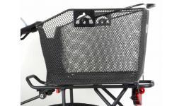 Корзина 8-15290020 зад. 33х42х21см V=22л б/съемн. для багаж. CarryMore с ручкой сталь черная AUTHOR