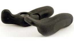 Рога 8-33152011 алюм./резина короткие ABE-402 Blk эргон. (50) черные AUTHOR
