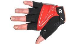 Перчатки 8-7130564 Lady Comfort Gel красн-черно-серые M гель/лайкра/синт.кожа с петельк. (20) AUTHOR