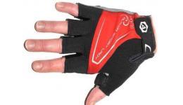 Перчатки 8-7130565 Lady Comfort Gel красн-черно-серые L гель/лайкра/синт.кожа с петельк. (20) AUTHOR