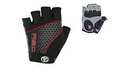Перчатки 8-7130706 Men Comfort Gel черно-красные р-р S гель/лайкра/синт.кожа с петельк. (20) AUTHOR