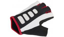 Перчатки 8-7130730 Men ARP 14A черно-бело-красные р-р S гель/лайкра/синт. кожа с петельками AUTHOR