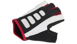 Перчатки 8-7130732 Men ARP 14A черно-бело-красные р-р L гель/лайкра/синт. кожа с петельками AUTHOR