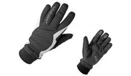 Перчатки 8-7131050 длин. Windster Plus утепл. черно-белые S лайкра/неопрен/синт.кожа/гель (20)AUTHOR