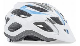 Шлем 8-9001359 спорт. с сеточкой Sector 165 18отв. INMOLD бело-сине-серый 54-58см (10) AUTHOR