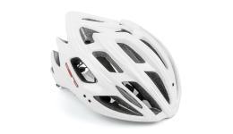 Шлем 8-9001399 спорт. Aero X7-165 16 отв. InMold+EPS/поликарбонат бело-красный 58-62см AUTHOR