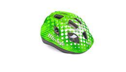 Шлем 8-9089963 с сеточкой Mirage 166Grn INMOLD детский/подр. 12отв. зеленый 48-54см (10) AUTHOR