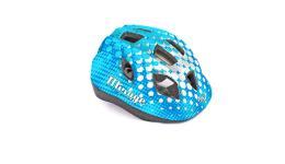 Шлем 8-9089965 с сеточкой Mirage 167Blue  INMOLD детский/подр. 12отв. синий 48-54см (10) AUTHOR