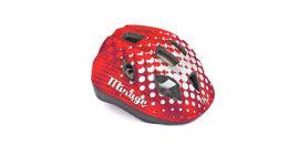 Шлем 8-9089967 с сеточкой Mirage 168Red INMOLD детский/подр. 12отв. красный 48-54см (10) AUTHOR