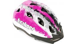 Шлем 8-9090009 с сеточкой Trigger 152 Pnk INMOLD подростковый 12отв. розов-белый 54-58см (10) AUTHOR