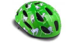 Шлем 8-9090052 с сеточкой Floppy 141 Grn детский 16отв. зеленый 48-54см (10) AUTHOR