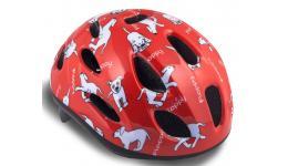 Шлем 8-9090053 с сеточкой Floppy 142 Red детский 16отв. красный 48-54см (10) AUTHOR
