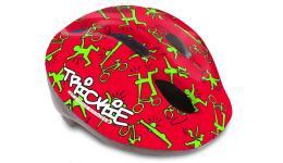 Шлем 8-9090080 с сеточкой Trickie 151 Red/Grn детский/подр. 8отв. красно-зеленый 49-56см (10) AUTHOR
