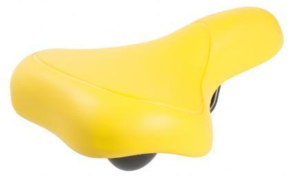 Седло 5-251066 комфорт. 262х156мм спец. наполн. суперпрочн. покрытие 398г желтое M-WAVE EVA CITY
