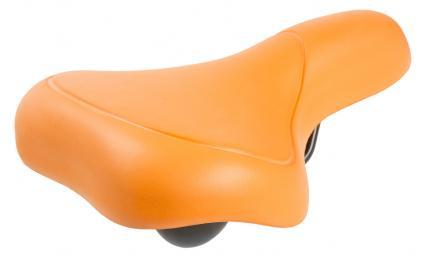 Седло 5-251067 комфорт. 262х156мм спец. наполн. суперпрочн. покрытие 398г оранжевый M-WAVE EVA CITY