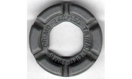 """Захват д/спиц  6-648440 Cr-Mo 14/15G """"круглый"""" (300) серебр."""