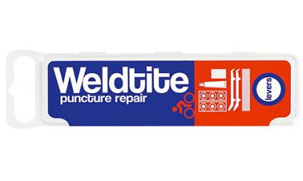 Аптечка 7-01029 6 суперзаплаток+клей+шкурка+2монтировки WELDTITE (Англия)