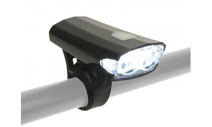 Фара 8-12002262 2д. 40люм./3ф. Doppio Collimator-линзы Li-Ion АКБ USB-заряд.+кабель черная AUTHOR