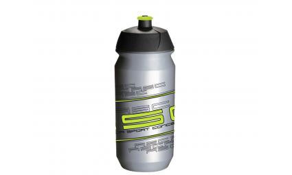 Фляга 8-14064006 100% биопластик. AB-Tcx-Shiva 0.6л серо-желтая (50) TACX/AUTHOR (Голландия)