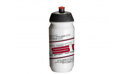 Фляга 8-14064007 100% биопластик. AB-Tcx-Shiva 0.6л бело-красная (50) TACX/AUTHOR (Голландия)