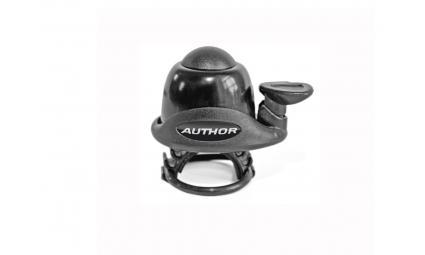 Звонок 8-16311110 алюм./пласт. AWA-60-Blk мини резин. крепл. (10) черный AUTHOR