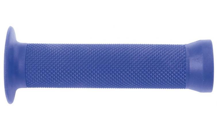 Ручки 3-360 на руль С83 резин. BMX 135мм торц. защита+защита от проскальз. голубые CLARK`S