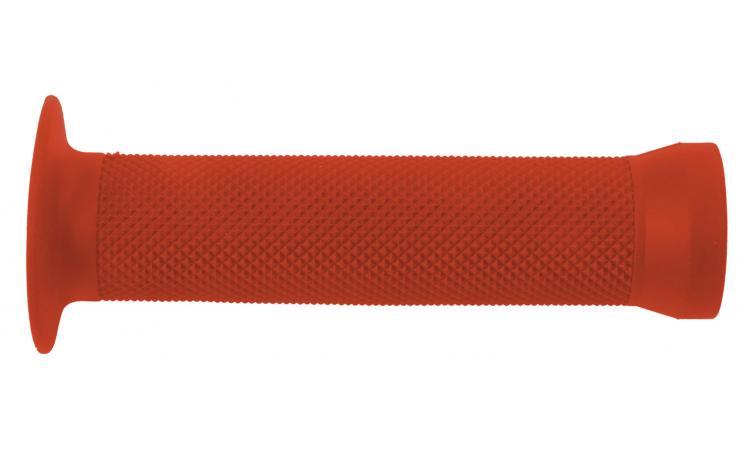 Ручки 3-364 на руль С83 резин. BMX 135мм торц. защита+защита от проскальз. красные CLARK`S