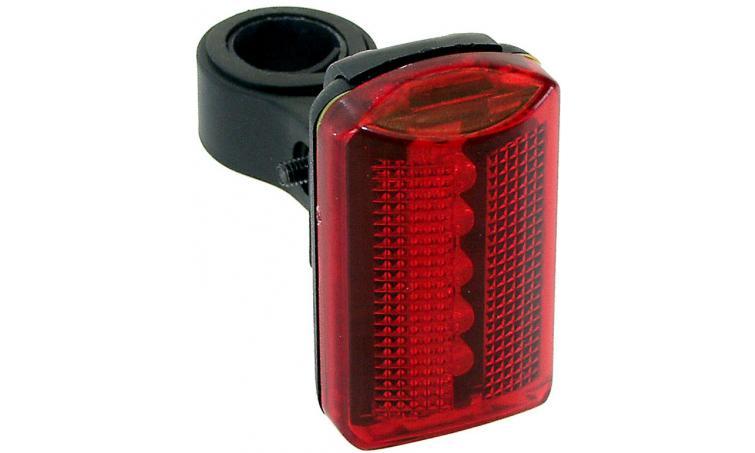 Фонарь 5-221085 заднний 5д/2ф красный с батар. VENTURA