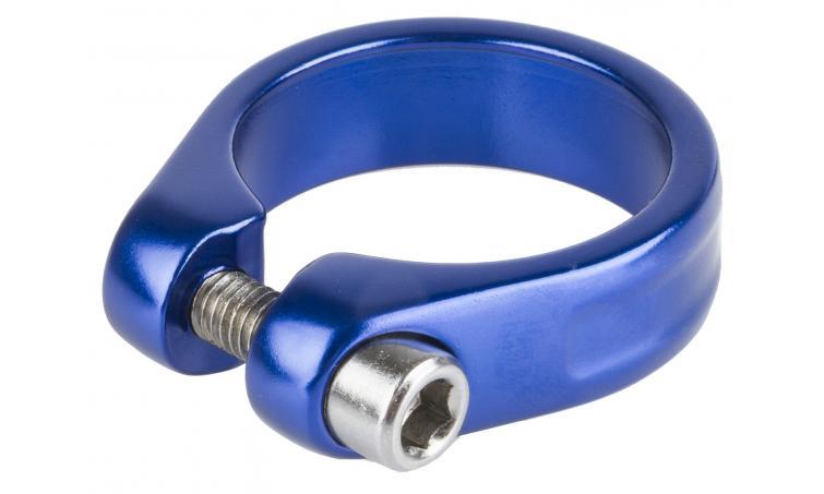 Хомут 5-250934 подседельный 31,8мм синий M-WAVE