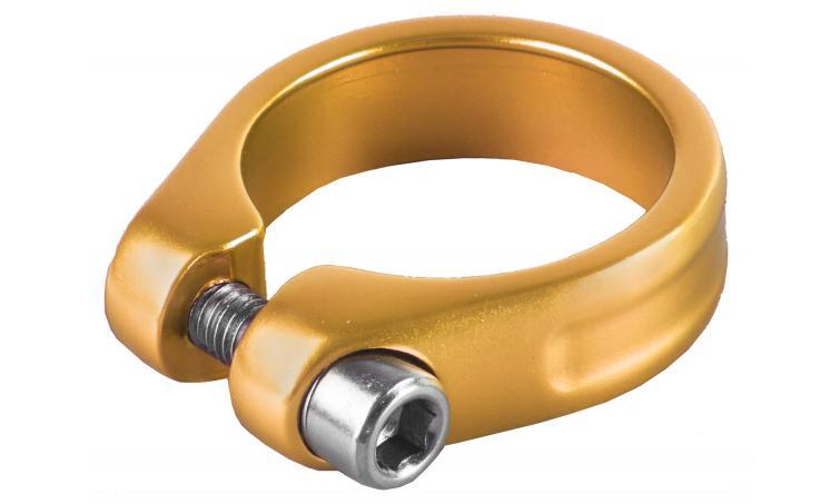 Хомут 5-250936 подседельный 31,8мм золотистый M-WAVE