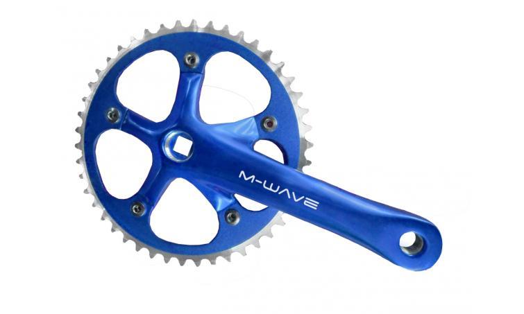 Система передняя  M-WAVE синяя 5-350604