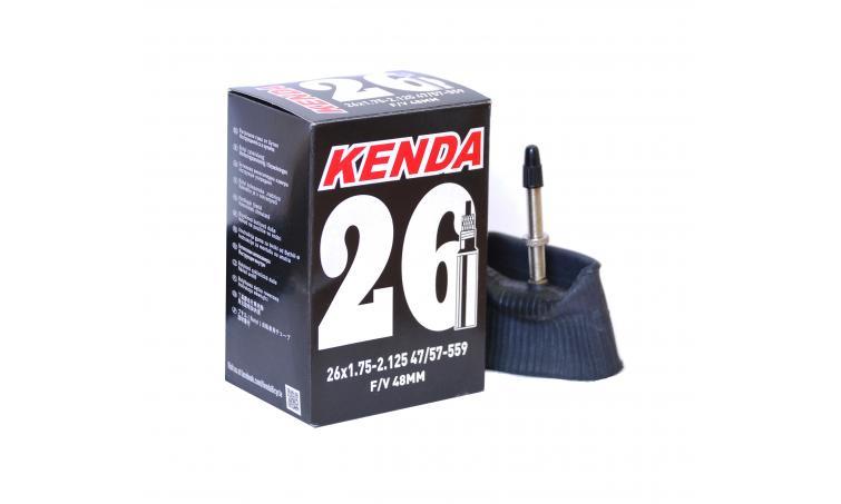 """Камера 26"""" спорт 48мм 5-511290 резьба 1,75-2,125 (40/57-559) (50) KENDA"""