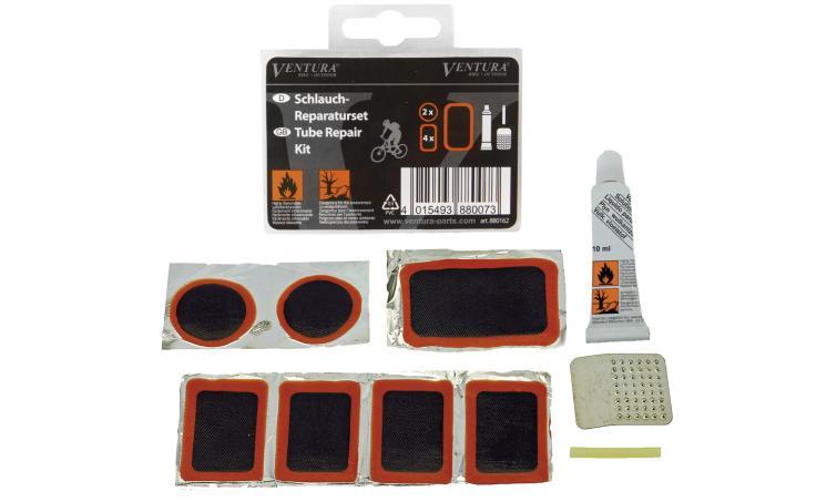 Аптечка 5-880162 7заплаток+клей+терка черная VENTURA