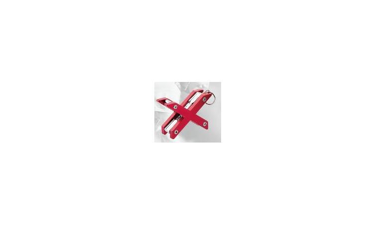"""Набор 6-003 унив. склад. шестигр. FG-03 мини """"брелок"""" 2/2,5/3/4/5/6/мм/PH2-отв. """"Х-образный"""" красный"""