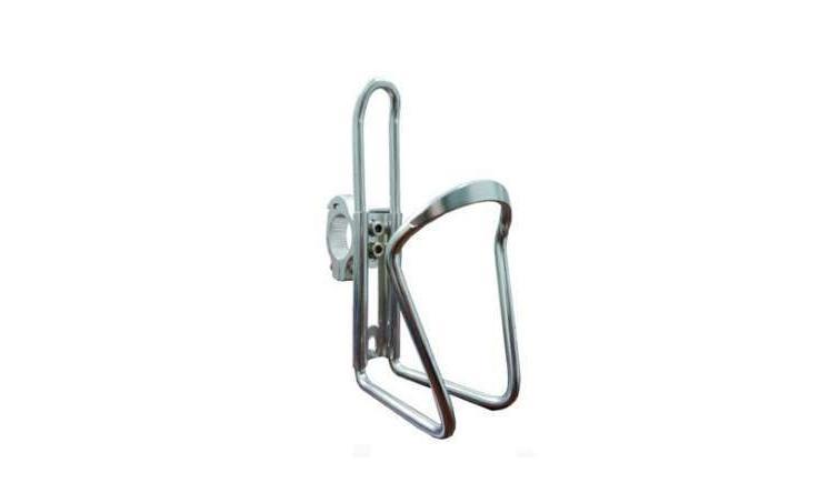 Флягодерж-ль 6-6381142 на руль 22,2 алюм. (100) серебрстый
