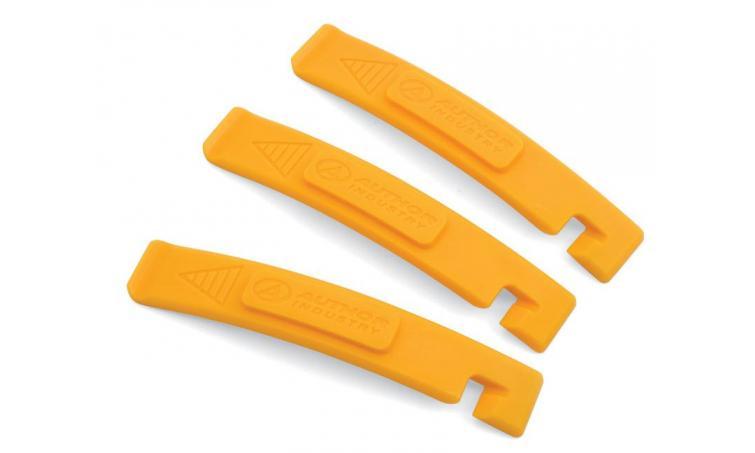 Монтировки 8-10009105 пластиковые AHT-07 Yel с крючками (3шт) желтые (25) AUTHOR