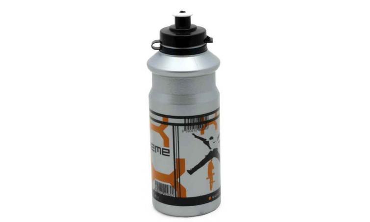 Фляга 8-14060125 пластик. серебр. EXTREME 0.7л AUTHOR (Португалия)