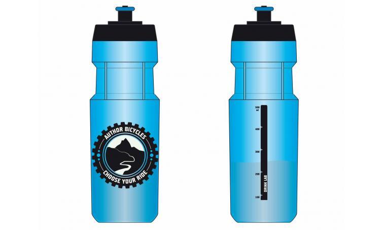 Фляга 8-14060216 пластик. голубая AB-Pol 141 blue 0.9л AUTHOR (Португалия)