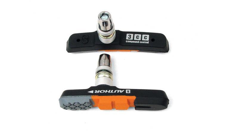 Тормозные колодки(2 пары) цветные  ABS-3CC  AUTHOR 8-24505005