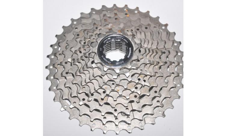 Кассета 10ск. KCSHG5010136 2-8035 DEORE 10х11-36 Ni-Plat серебр. SHIMANO (Япония)