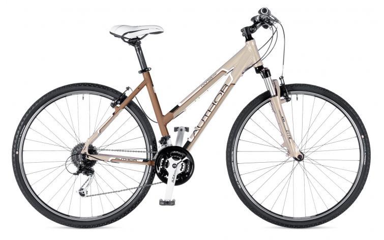 Женский гибридный велосипед Author Corsa